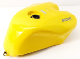 Ducati 748 916 996 998 OEM Yellow Fuel Tank– incls post, but not WA - NT