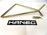 MX Dirtbike 3 in 1 Triangle Stand Height 310mm Pins 11mm, 14.5mm, 18mm