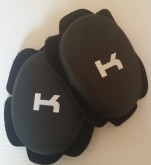 1 x Pair K Turtle Back Knee Sliders - Race Track Pucs