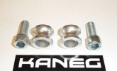hyosung silver spools, supplied with black bolts