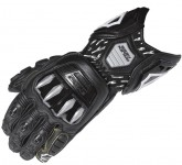 Arlen Ness RX-1 Race Glove, available only in Black Size: 2XL.