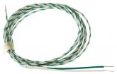 RS Pro K Type Thermocouple Glass Fibre 2m 0.3mm Diameter -50°C → +750°C - Post included