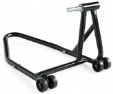 BMW 1600 Model Single Black Swing Arm Stand with spindle