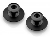 Swingarm pickups - Black - flanged offset Spools