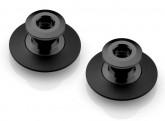 Swingarm pickups - Black - flanged offset Spools