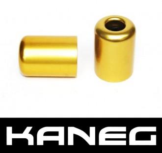 Kaneg Bar Ends - Gold - Kawasaki ZX6R/7R/9R/12R/Z1000/ZX10R