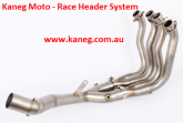 Yamaha YZF R1 2015-17 Stainless Steel Headers with a 61mm Tail