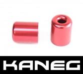 Kaneg Bar Ends - Red - Yamaha YZF600 (99-05)