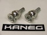 Kaneg Spools Kawasaki  - Small - 10mm x 1.25mm bolt Silver