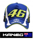 Rossi VR46 Yamaha - offical baseball cap 3D embroidered - post delivery included