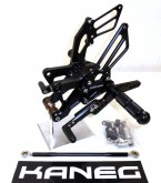 Rearsets Yamaha R1 09-14 Black