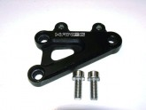 Rear Set Spares Gear Side Secondary Mounting Plate - Black