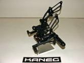 Rearsets Kawasaki Ninja 250R Black