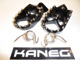 Kaneg Racing - KTM 2000-2015 4 Stroke - 2nd Gen EXC, XC-F, SX-F billet Foot Pegs + Springs - Post Included