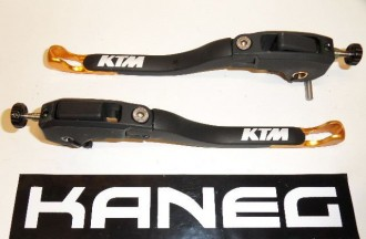 Levers KTM RC8 09-10 Orange Tip