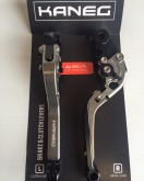 ZX6R 2007-2015  Kawasaki articulated fully adjustable Road and Race Levers: Clutch & Brake Lever Set