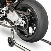 BMW S1000 Stainless Steel Motorcycle Stands + a Set ofi Spools - Race Paddock Moto Motorbike