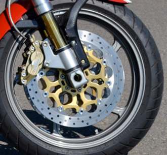Regular Caliper Mount, the Pinned stand is ideal for this style of front end
