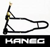 Kawasaki - Black Rear Hooked Paddock Stand incl's a set of 10mm mini-spools - Post included