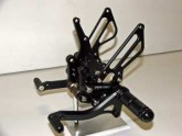 Rearsets Honda CBR125R and CBR 150R Black