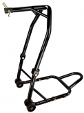TT600/Speed 4 - HEADLIFT MATE - SET HEIGHT FRONT WHEEL - FORK TRIPLE TREE CLAMP STAND - Post included