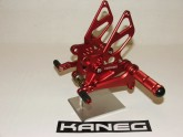 Rearsets Ducati 848/1098/1198 Red