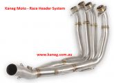 Yamaha YZF R6 2006-17 Stainless Steel Headers with a 51mm Tail