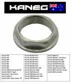 Ducati Front Wheel Nut M25x1.25mm.  Suits various models no 1 on the schematic.
