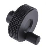 Elesa Black Technopolymer 60mm Hand Wheel 34598-C9 - Post included