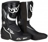 Berik Shaft 2.0 Motorcycle Boots - Black/Fluro