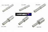123mm Shaft length - Single Swing Arm Spindles ONLY - Post included