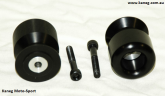 Triumph 8mm Jumbo Delrin Swing Arm Protector Slider and Pickup Spools