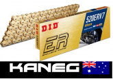 DID Race 520 ERV7 120 links Gold Chain, suits MotoGP/SBK/SS/STK Racing. Post Included