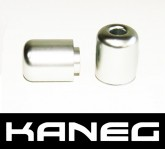 Kaneg Bar Ends - Silver - Yamaha R1 (98-06) /R1 (06) /R6 (06)