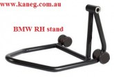 RIGHT HAND BMW Single Black Swing Arm Stand with spindle