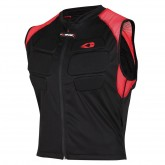 A lightweight design is a compression fit comfortable sleeveless upper body protector Vest.