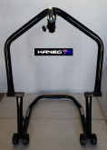 HEADLIFT STAND with an Inclined and length adjustabe Goose Neck - Headlift Front Wheel Triple Clamp stand - post included