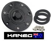 KTM 125 200 250 Duke - 2012-2016: 7 Hole  Keyless, Racing Fuel Tank Filler Cap (Center Filler Hole Type) - Post included.