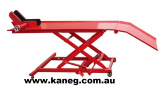 Kaneg Big Red Heavy Duty Motorcycle Table scissor Lift - DELIVERY EXTRA
