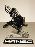 Rearsets Kawasaki Z1000 10-13 Black