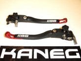 Levers Ducati 1198 08-10 Red Tip