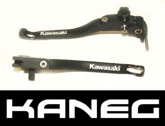 Levers Kawasaki Z1000 07-09 Black Tip