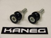 Kaneg Spools - Small - 10mm x 1.25mm bolt Black - Kawasaki
