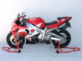 Headlift & Rear Motorcycle Stands & Front Conversion Kit - Red