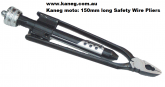 Kaneg 150mm long Safety Wire Pliers.