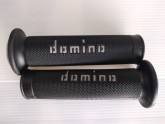 Domino Road & Race  Black/Grey Grips - Post included