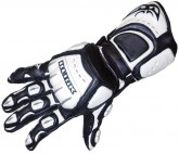 Berik 9316 Motorcycle Gloves - White
