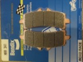 BENDIX 341MRR Road Race - Track Day Sintered Brake Pads - 4 Pads for 2 disc Motorcycles
