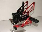 Rearsets Honda CBR 600 03-07 Black