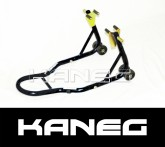 Kawasaki twin disc Front Stand - Black Paddock Stand - Post included